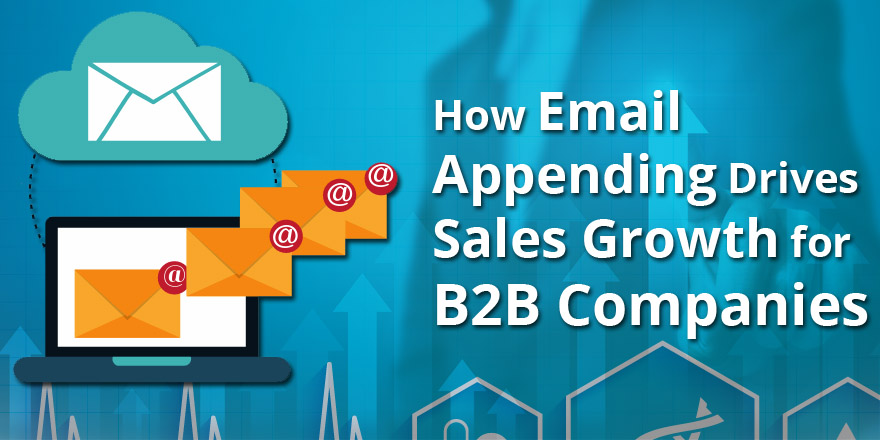 Email Appending Drives Sales Growth for B2B Companies