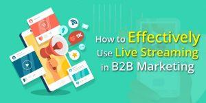 B2B live streaming