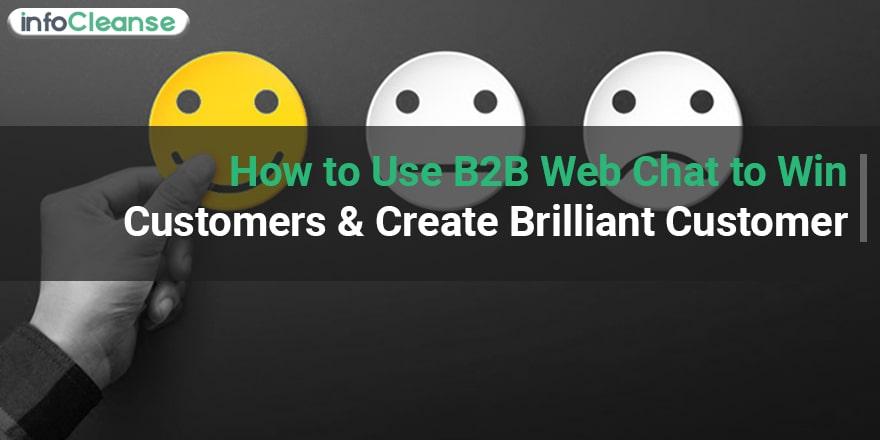 B2B web chat