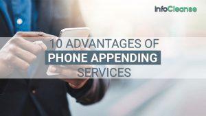Advantages of Phone Appending Services