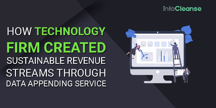How Technology Firm Created Sustainable Revenue Streams Through Data Appending Service
